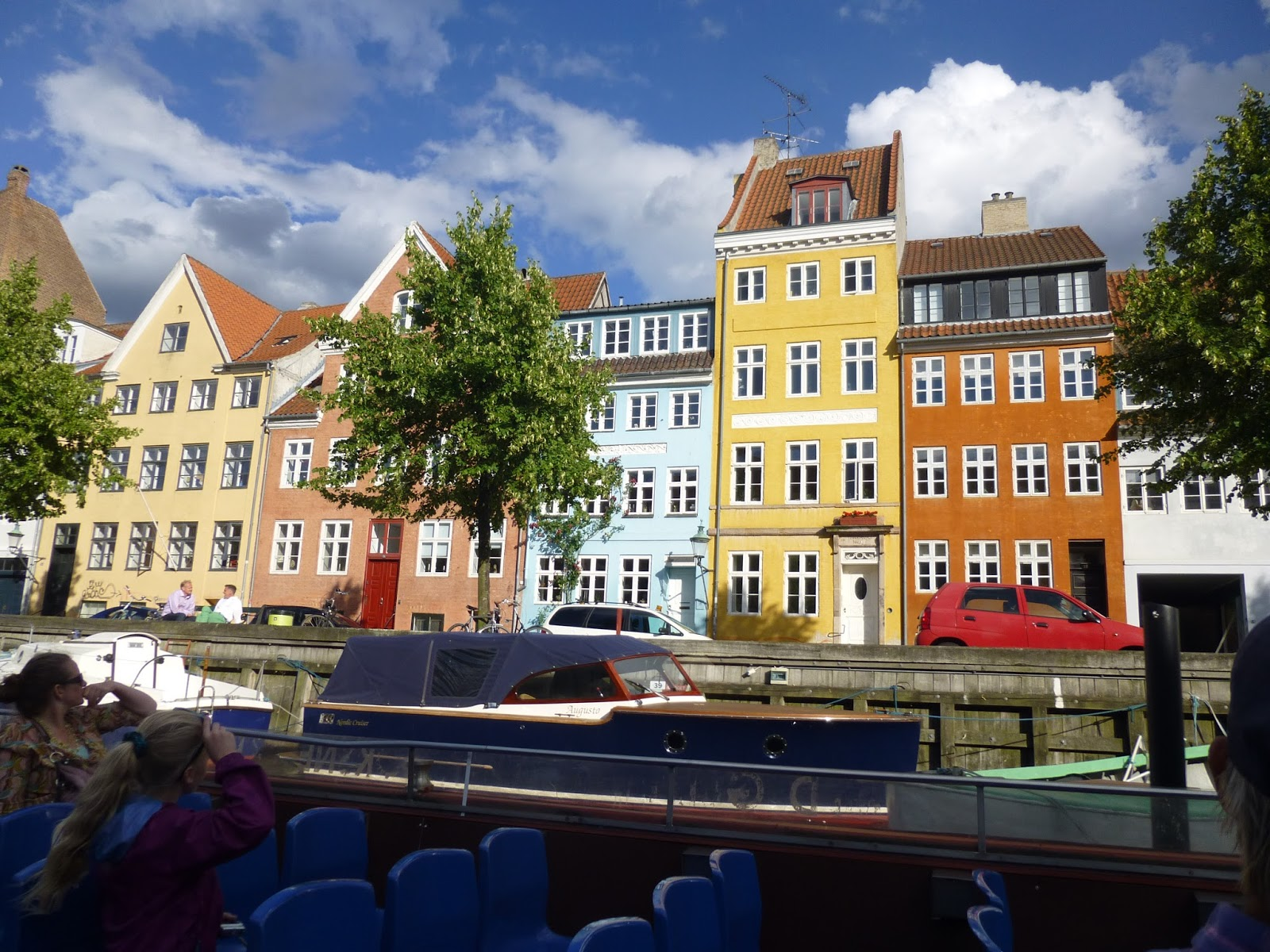 Converted wharehouses on canal