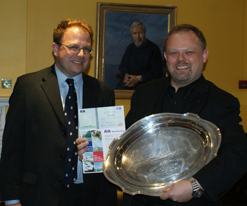 Rune Bakken winner of the Pinta Salver