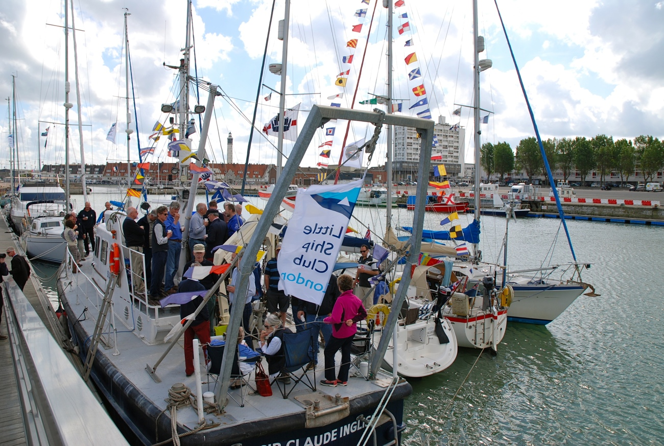 Sir Claude Inglis Little Ship Club Calais Rally Beer Call