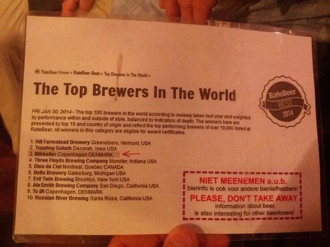 Antwerp, Kulminator 40th Anniversary Beer.