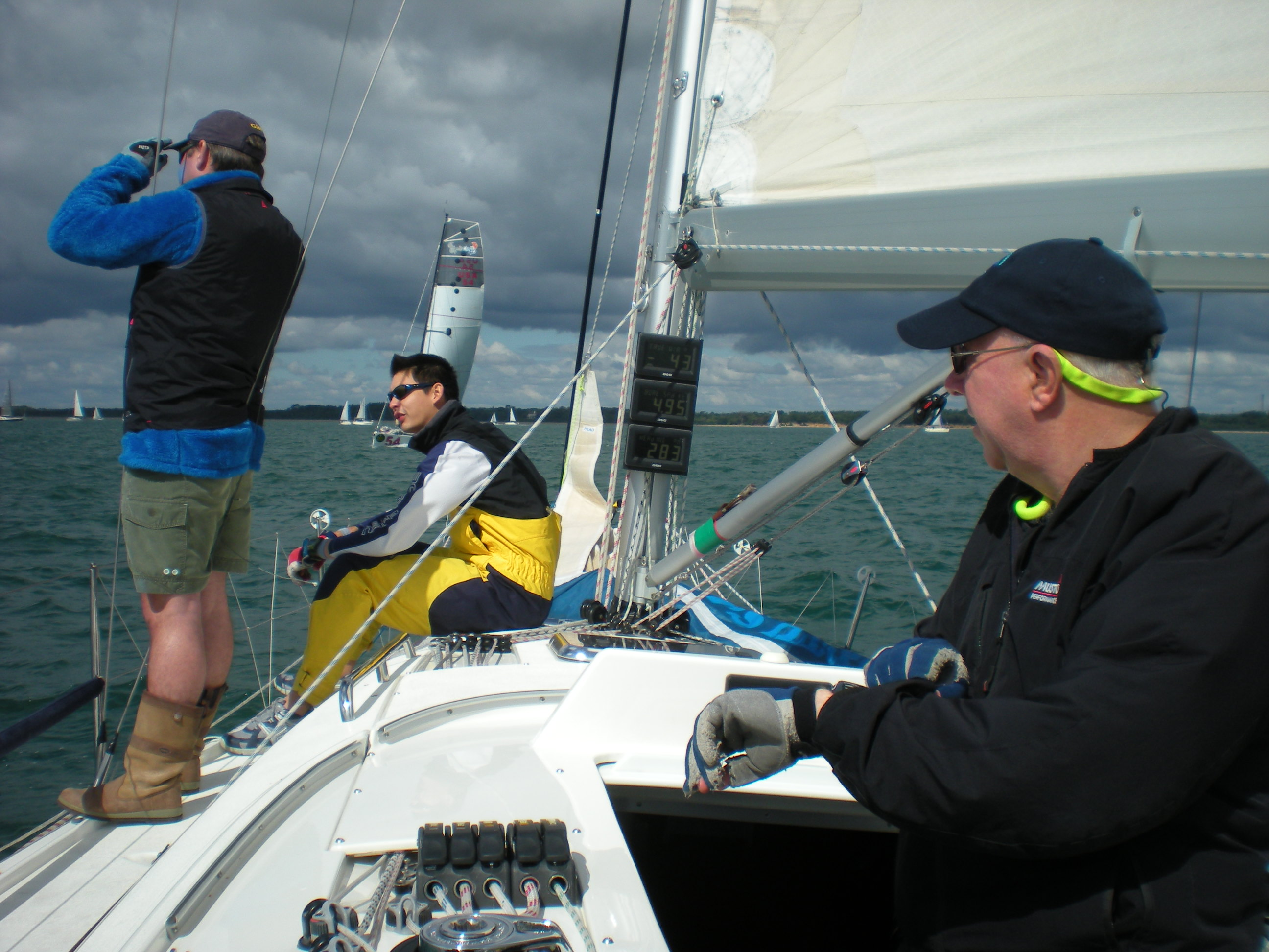 Timing the Fastnet Start