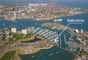 Aerial View of Haslar Marina