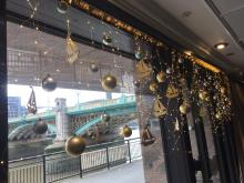 Christmas decorations at the Little Ship Club