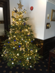 Christmas Tree at the Little Ship Club
