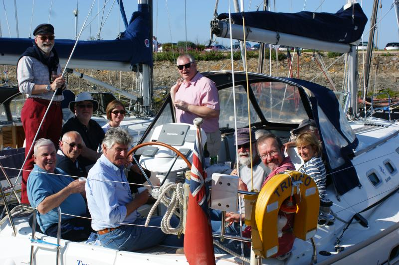LSC Club Rally, On the water, St Vaast