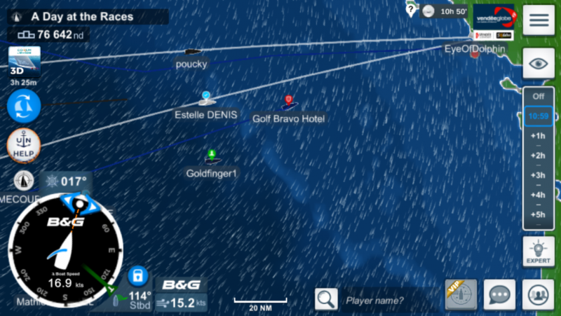 The winners arrive at Les Sables d' Olonne in the Virtual Regatta Vendee Globe