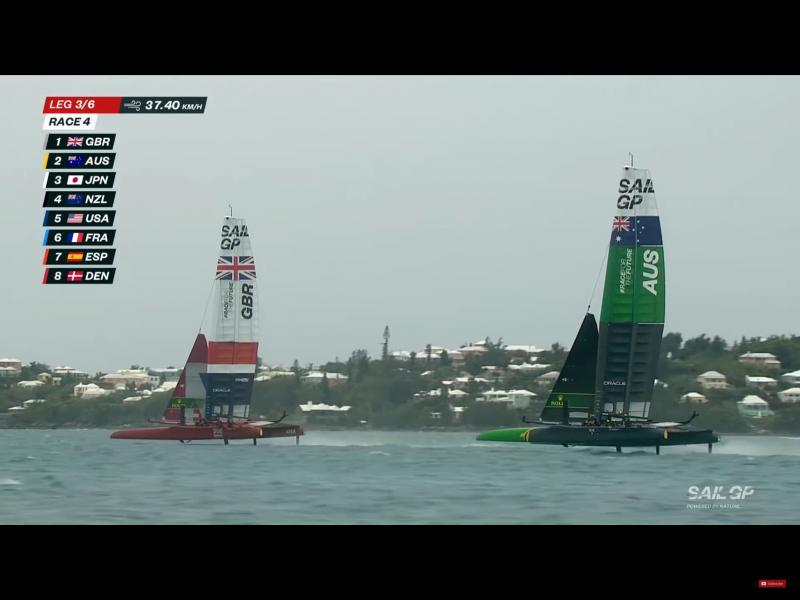 A close finish in Bermuda SAILGP for Sir Ben Ainslie
