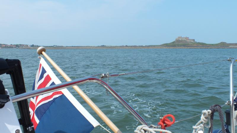 Approaching Lindisfarne