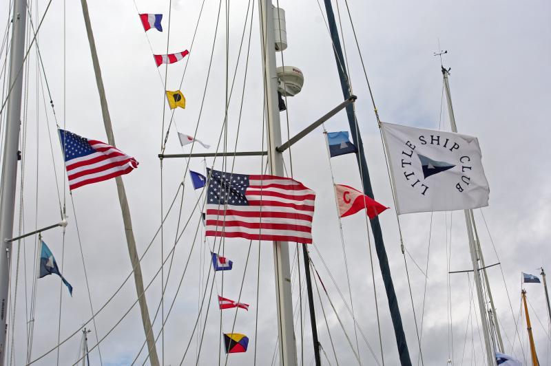Little Ship Club flags