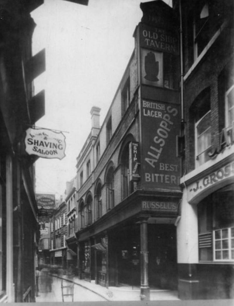 Old Ship Tavern, Ivy Lane, City of London
