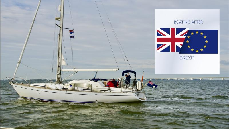 Little Ship Club sailing in the EU after Brexit. Icon image courtesy of freepix.com