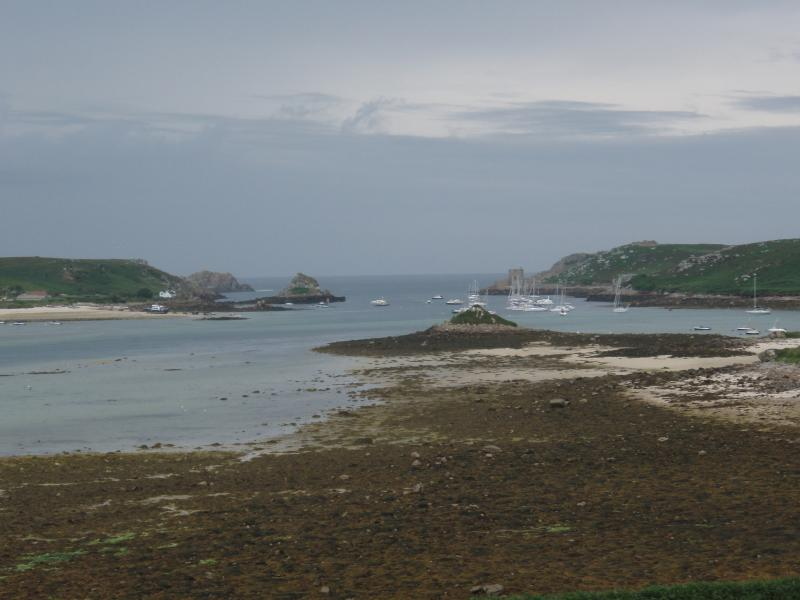 Looking Down Tresco Harbour