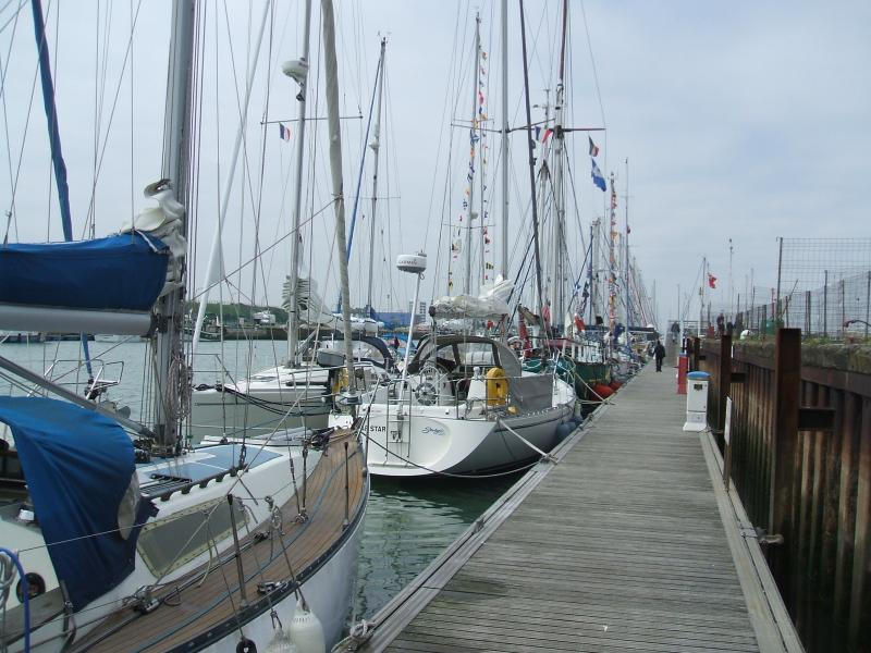 Yachts Dressed Overall in Calais