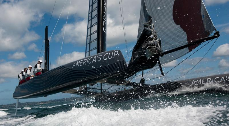 America's Cup yacht race screening London