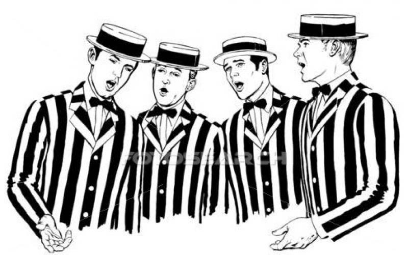 Barber Quartet : Barbershop Quartet: Over the Bridge Little Ship Club