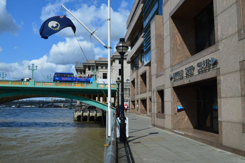Little Ship Club riverside entrance