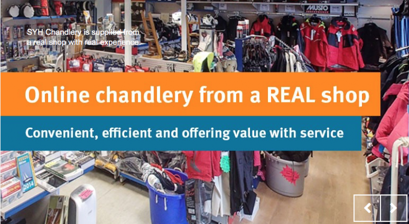 Suffolk Yacht Harbour Chandlery