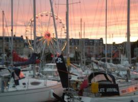 Sunset over Cherbourg