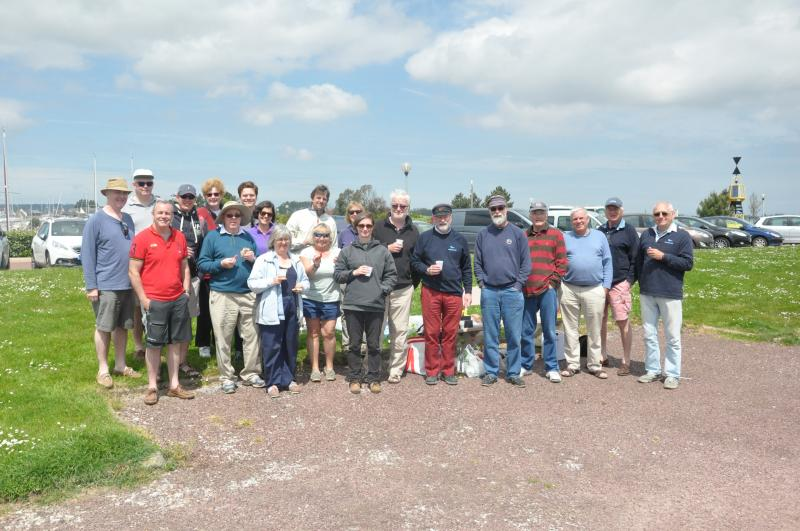 LSC Club Rally, On the water, St Vaast, Picnic