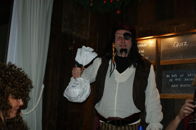 Pirate with Plum Pud