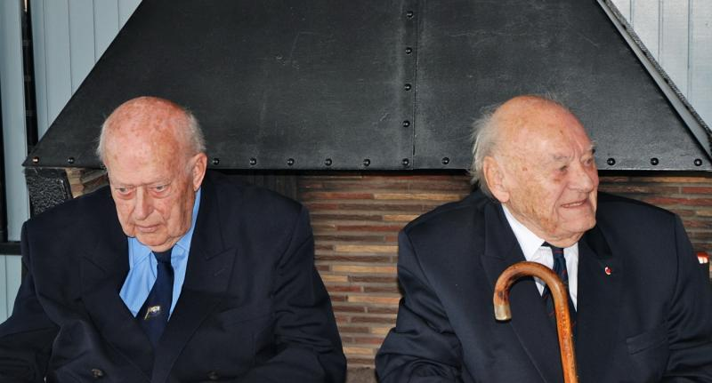 Two Honorary Life Vice-Presidents, Norman Hummerstone and Dr. Jean Plancke