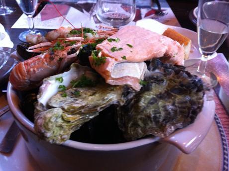 My dinner in L'Aberwrac'h