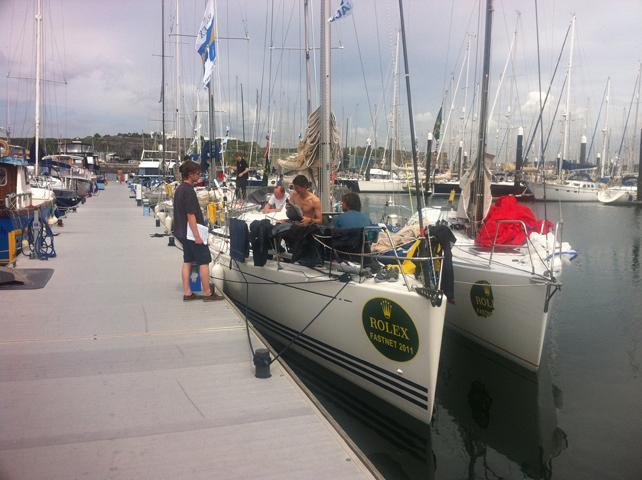 Docked in Plymouth