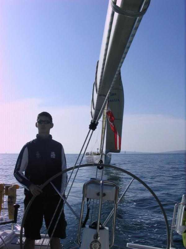 Ahead of a Clipper 60