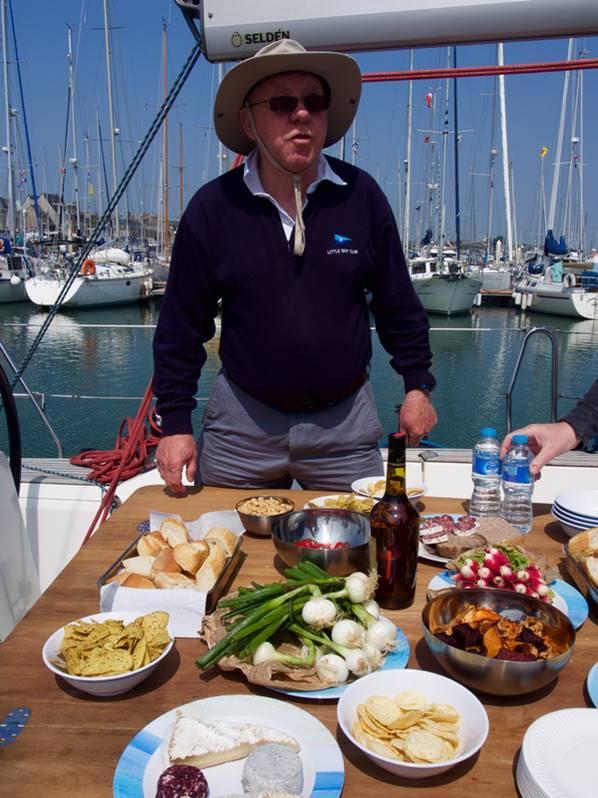 2016 picnic spread from Gosellin's