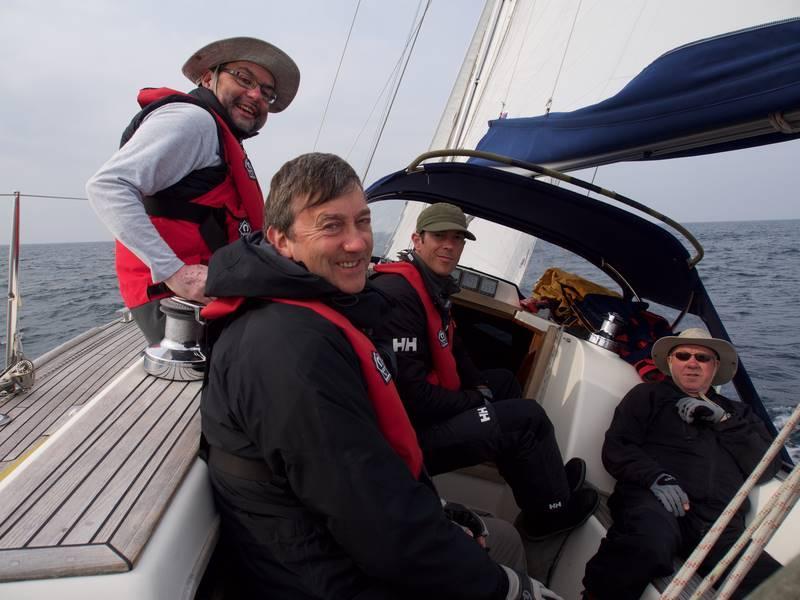 On board Shearwater