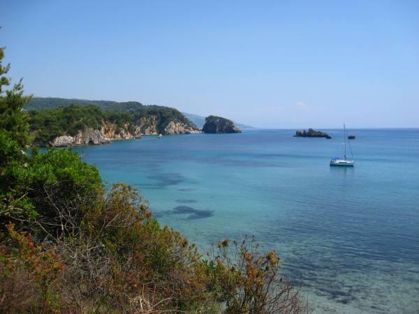 Vrosina alone in Two Rock Bay... for now