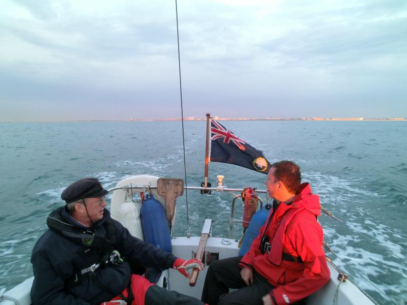 Leaving Calais behind Silver Pearl Pete Hampson Michael Forbes Smith Sadler 26