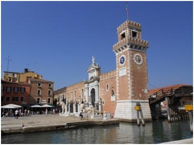 Gate to the Arsenale