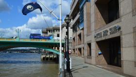 Riverside entrance of the Little Ship Club